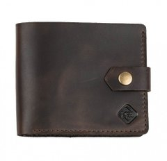 Leather Wallet KISA Crazy Horse Brown